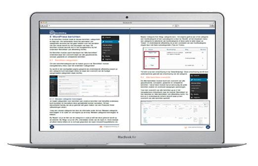 WP Handleiding voorbeeld laptop