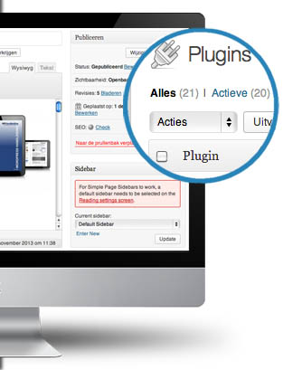 WordPress plugins & widgets tips, tricks en hulp