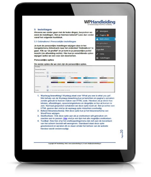 WordPress Handleiding voor WordPress 3.8
