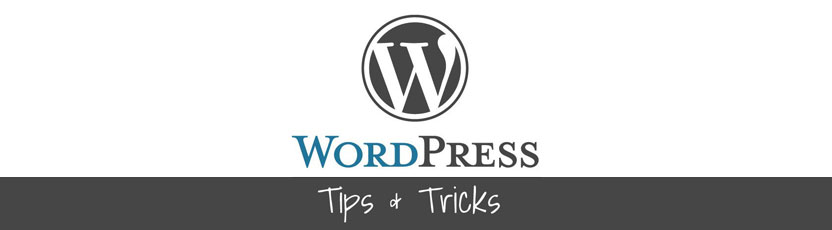 4 wordpress tips
