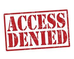 Access denied wordpress dashboard