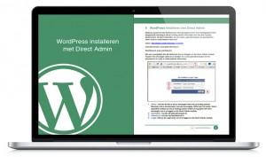 WP handleiding WordPress Installeren