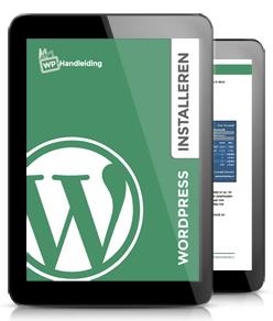 WordPress installeren handleiding