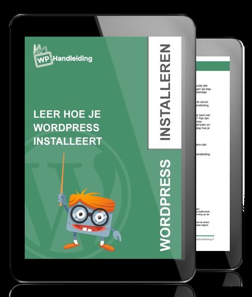 WP-Handleiding-WordPress-Installeren-Leer-hoe-je-WordPress-Installeert