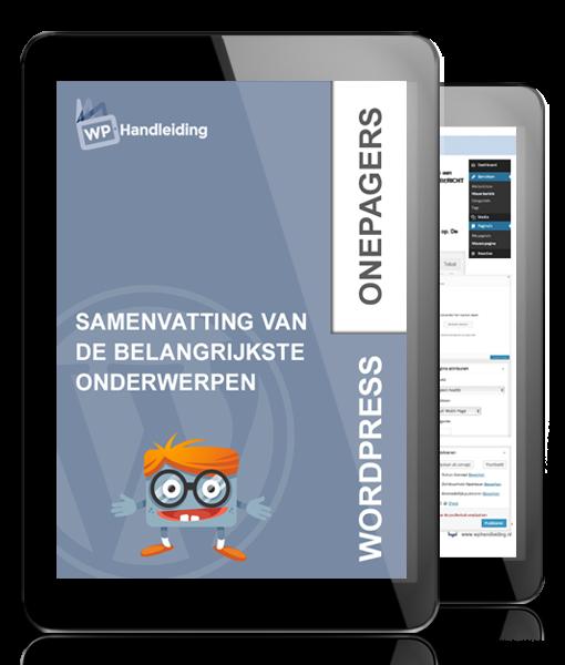 WP-Handleiding-WordPress-Onepagers-Samenvattingen-van-de-belangrijkste-WordPress-onderwerpen