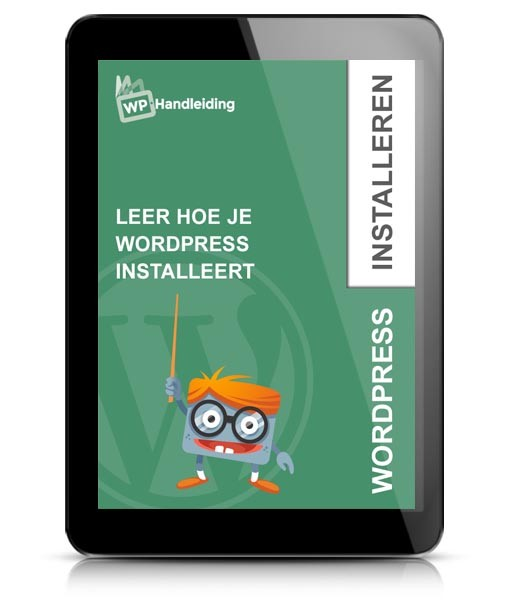 WordPress Installeren ebook voorbeeld