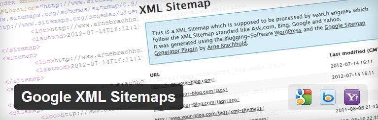 5 must have plugins - Google XML Sitemaps Plugin