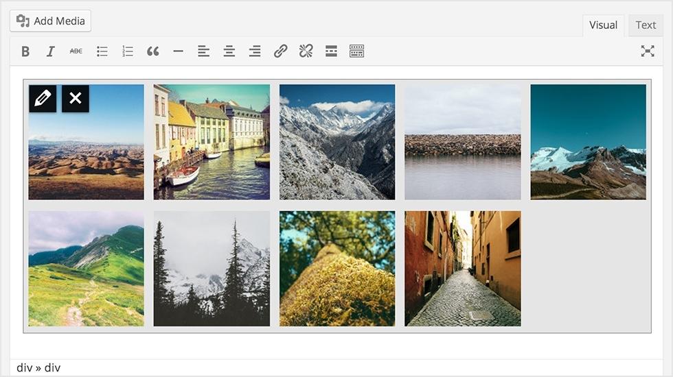 WordPress 3.9 nieuwe gallerij voor afbeeldingen - WP Handleiding