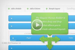 Elegant Themes Drag & Drop Builder plugin
