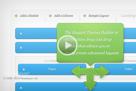 Elegant Themes Drag & Drop Builder plugin