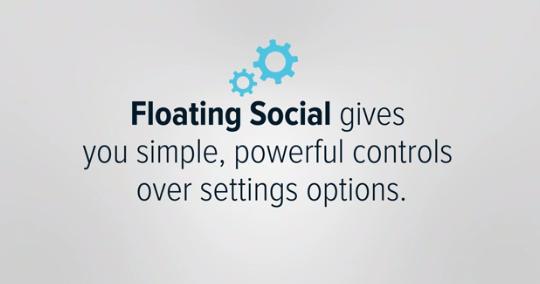 Floating Social Plugin