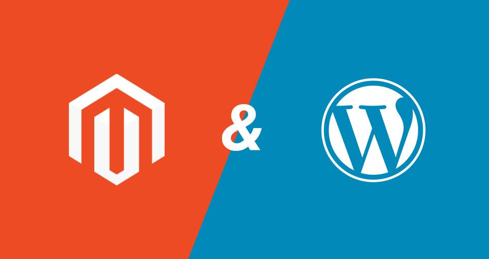 Het verschil tussen wordpress en magento