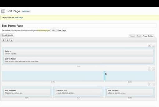 SiteOrigin Page Builder plugin