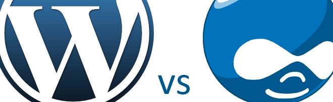 Het verschil tussen WordPress en Drupal