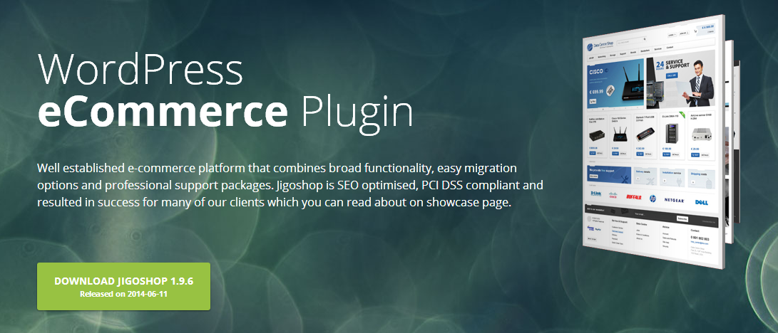 JigoShop Wordpress webshop plugin