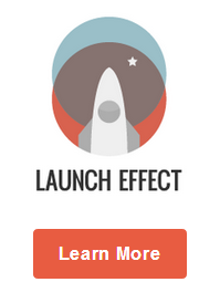 Launch Effect WordPress thema voor integratie met mailchimp