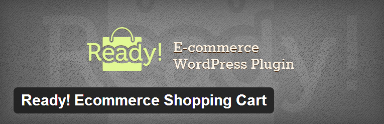 Ready! Ecommerce shopping webshop plugin voor WordPress