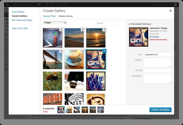 Standaard formaat gallerij afbeeldingen wijzigen in WordPress