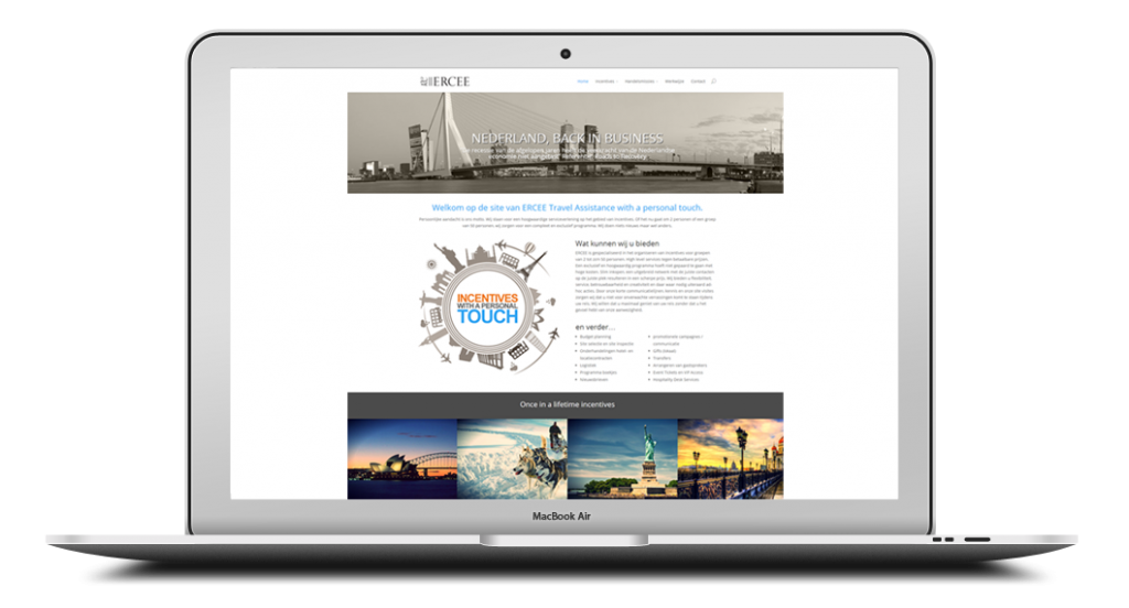 Webdesign example WP Handleiding