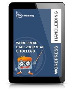 WordPress handleiding ebook voorbeeld