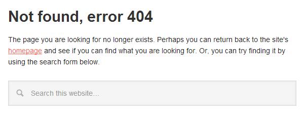 Nooit meer 404 error pagina's op je WordPress website