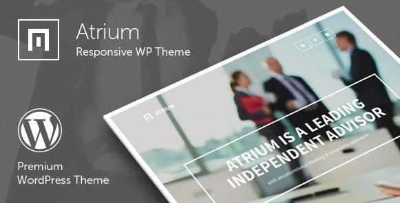 Atrium zakelijk WordPress thema