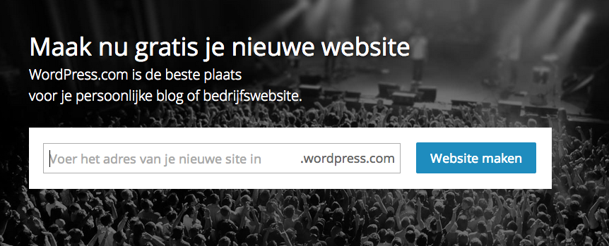 Een WordPress.com website
