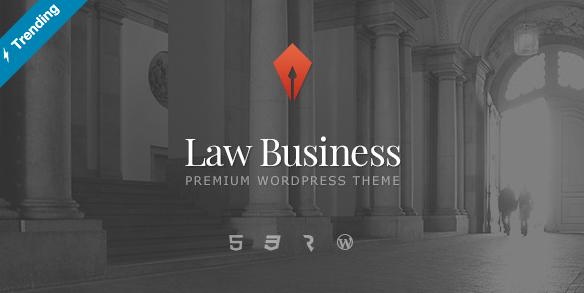 LawBusiness zakelijk WordPress thema