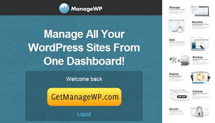 ManageWP voor wordpress - al je wordpress website beheren vanaf een tool