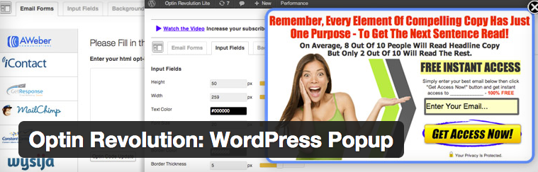 Optin Revolution WordPress Popup