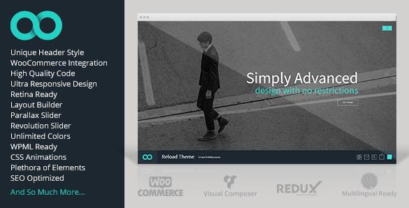 Reload zakelijk WordPress thema