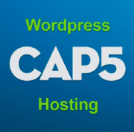 CAP5 WordPress webhosting