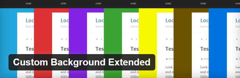 Een unieke achtergrond per bericht maken in WordPress