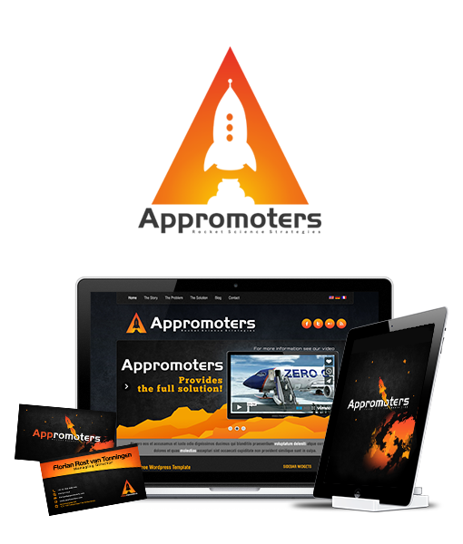 appromoters logo design