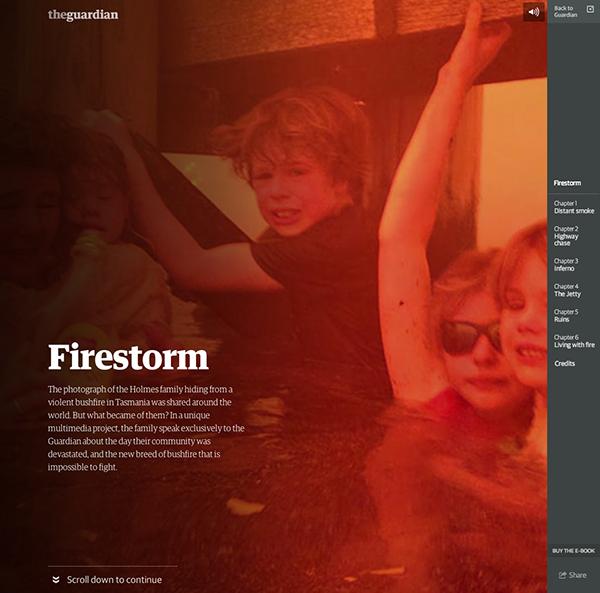 webdesign trends 2015 brengt Interactief verhalen vertellen