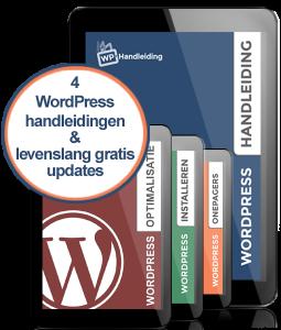 Alle WordPress handleidingen en levenslang gratis updates via WP Handleiding