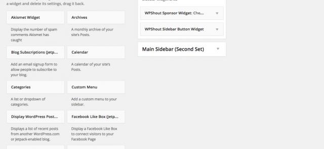 Hoe maak je een widget area op je WordPress website