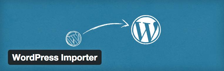 WordPress importer plugin - importeer wordpress gegevens naar een nieuwe wordpress website