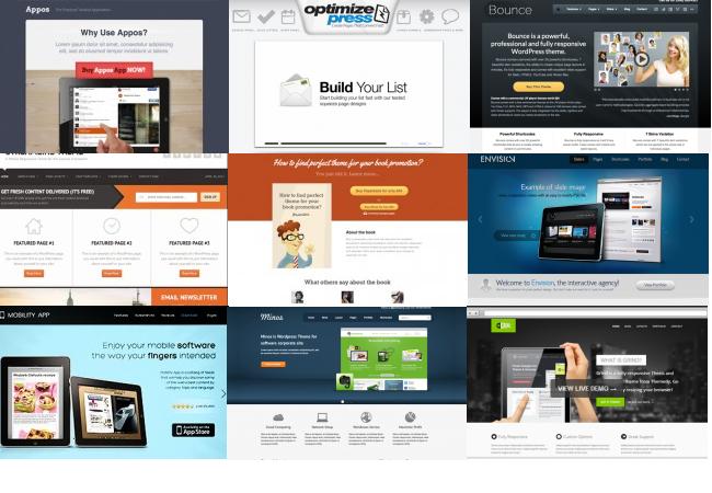 Wordpress landingspagina maken