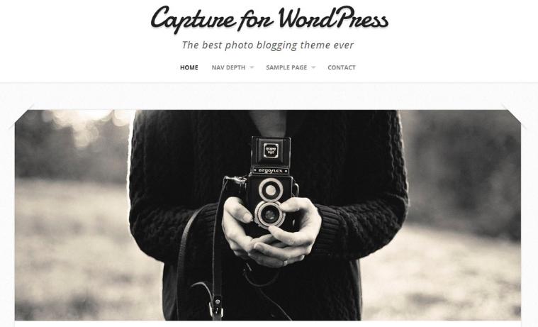Capture WordPress thema
