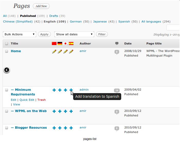 WPML meertalige wordpress website creeren