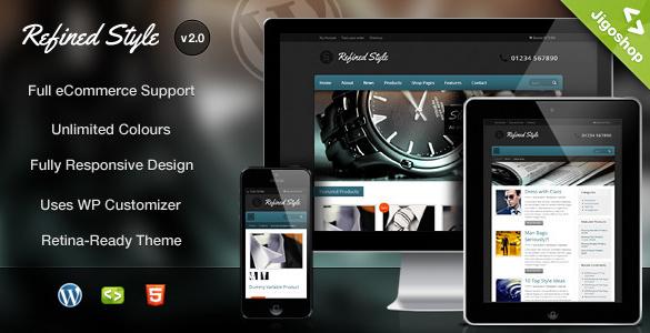 Refined Style - WordPress Jigoshop eCommerce Theme