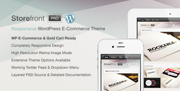 Storefront Pro for WordPress e-Commerce