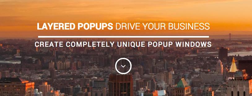 Layered popups plugin voor wordpress