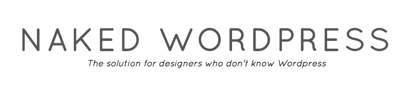 NAKED blanco starter thema voor wordpress