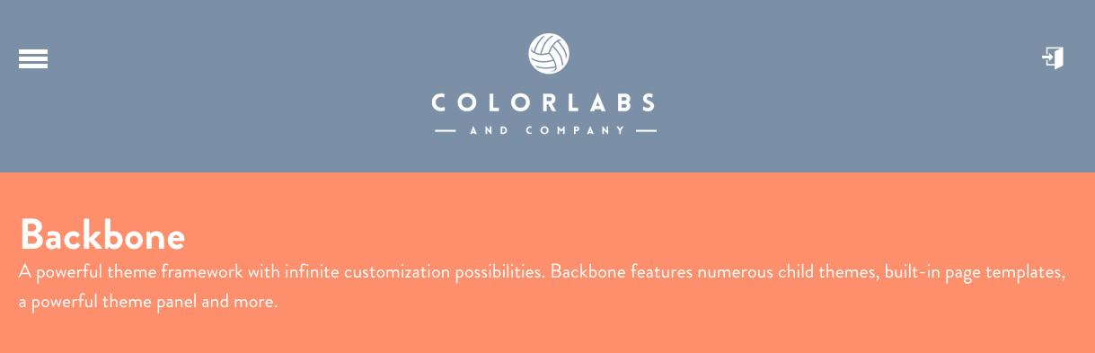 Backbone Wordpress blanco starter thema