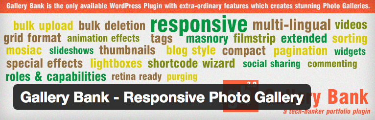 Gallery Bank - Responsive Photo Gallery plugin