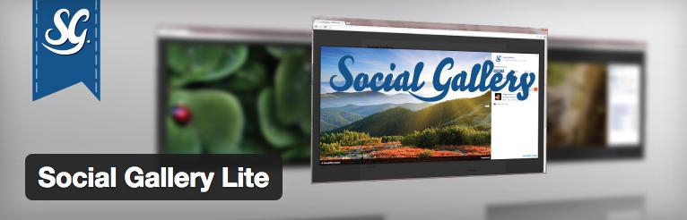 Social Gallery Lite plugin