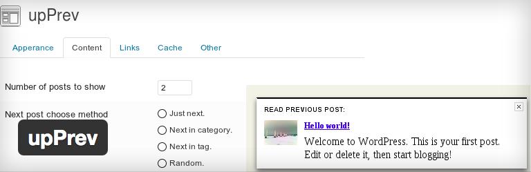 Upprev gerelateerde berichten voor wordpress