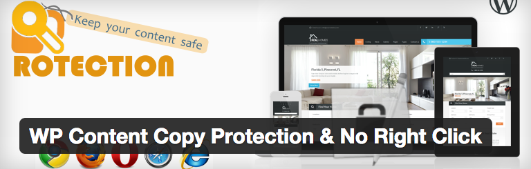 WP Content Copy Protection & No Right Click voor WordPress